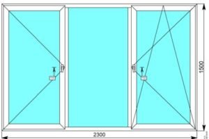 Алюминиевое окна Schuco цена