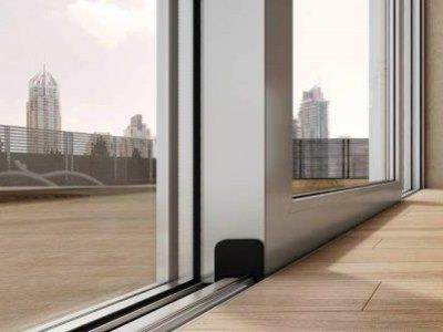 Алюминиевые двери подъемно- раздвижные 28 000.00 руб./м.кв.