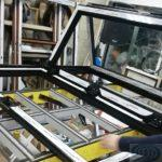 Алюминиевые окна и двери гармошка