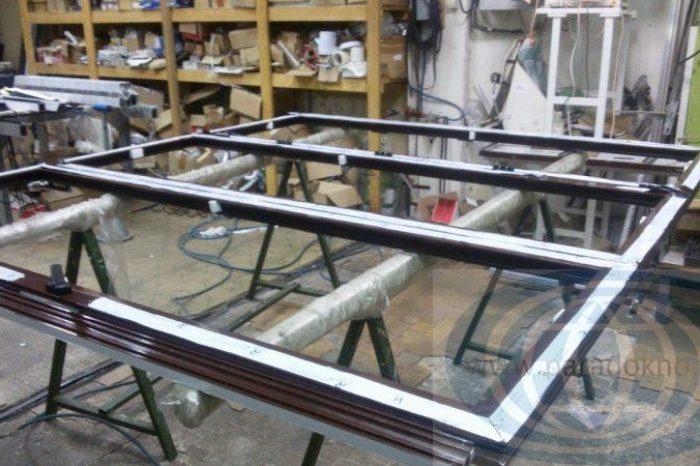 Алюминиевая гармошка Alumil (16)
