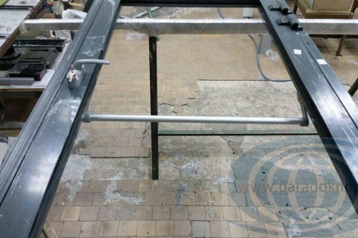 Алюминиевые двери антипаника (1)