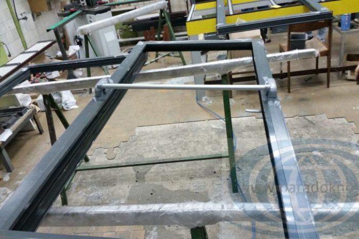 Алюминиевые двери антипаника (3)