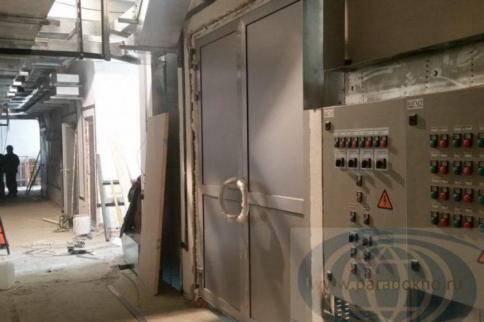 Алюминиевые двери (12)