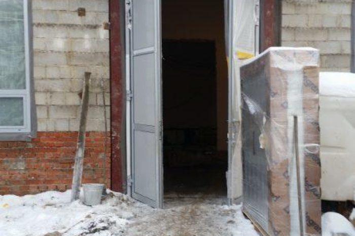 Алюминиевые двери (9)