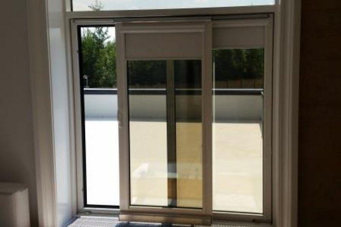 Алюминиевое окно откидное-сдвижное