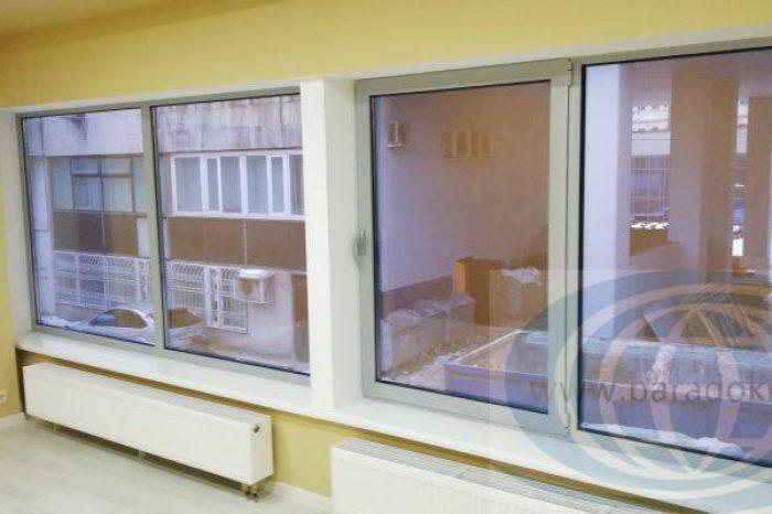 Теплые окна алюминиевые